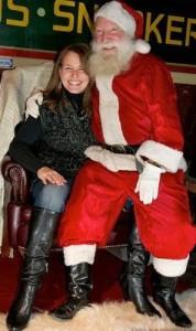 Reba and Santa